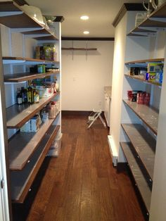 Completed custom pantry in Bedford, MA basement remodel
