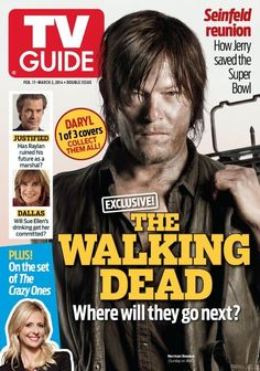 Looks who's on the cover of TV Guide!