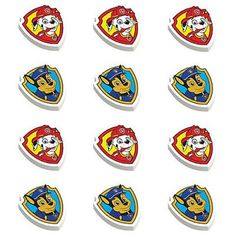 Paw Patrol Party Supplies Shield Shaped 18//0 grade Stainless Steel Cookie Cutter