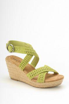 Minnetonka Haley Platform Wedge Sandal - Urban Outfitters