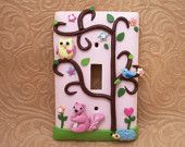 switch plate for baby's room