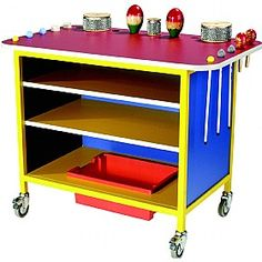 Musical Instruments Trolley £235 - Education Furniture