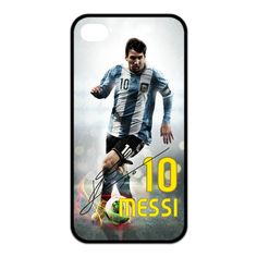 Argentina Superstar Football Player Lionel Messi 10 Hard Plastic cover case For iPhone 4/4s 5/5s 5c 6 6plus ipod touch 4 5 cases