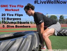 54 x 21 flipping tire workout