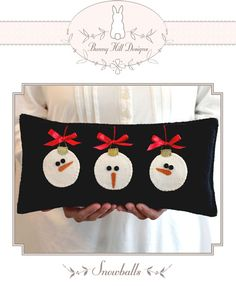 Snowballs by Bunny Hill Designs