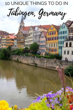 10 unique things to do in tubingen germany europe travel tip Backpacking Europe, Europe Travel Guide, Spain Travel, Travel Guides, Travel Hacks, Traveling Tips, Croatia Travel, Travel List, Hawaii Travel