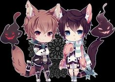 Image via We Heart It https://weheartit.com/entry/151024965 #anime #chibi #kawaii