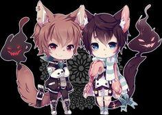 Image via We Heart It https://weheartit.com/entry/151024965 #anime #chibi #kawaii