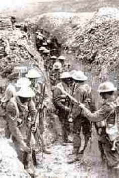 The Long, Long Trail The British Army in the Great War   WWI trench warfare  Battle of the Somme