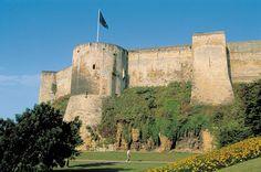 Caen's 11th-century castle was built by William the Conqueror