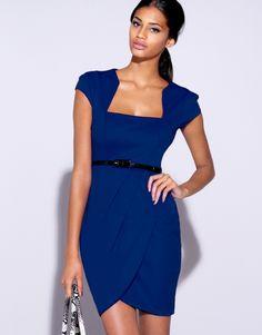 Lipsy Belted Day Dress
