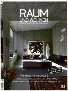 RAUM UND WOHNEN - LC3, design Le Corbusier, Jeanneret, Perriand