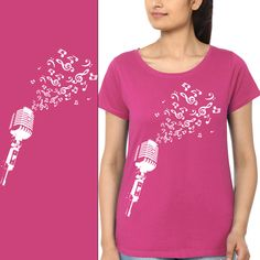 Women Round Neck Printed Short Sleeves T-shirt. BUY IT HERE: www.fabcasuals.com  #onlineshopping #India #shopnow #tshirts