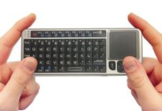 FAVI Entertainment Mini Wireless Keyboard with Mouse Touchpad