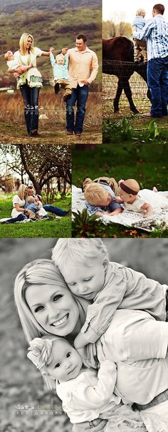 family pictures, the bottom photo looks kind of like what I had in mind from the earlier photo of the child on the back.