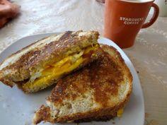 Breakfast Panini - yum!
