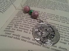 Beautiful Fairy Moon Necklace by AnemoneJewellery on Etsy