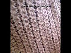 Nusret Hotels – Just another WordPress site Easy Knitting Patterns, Stitch Patterns, Crochet Patterns, Knitting Videos, Hand Knitting, Seed Stitch, Needle Lace, Pattern Books, Shibori