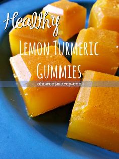 Want an easy AND delicious way to get the immune-boosting benefits of gelatin and turmeric? Make these Healthy Lemon Turmeric Gummies! Click here for recipe.