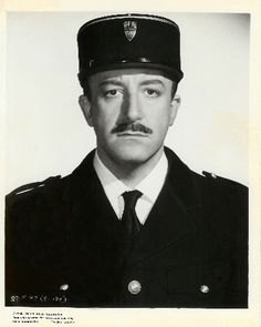 Peter Sellers as the great inspector Clouseau. First there was Chaplin who was a genius in perfect comedy timing. No one ever was his equal until Peter Sellers. I have watched Pink Panther movies since I was little girl in the sixties. I still laugh but it's a bit before the stunt cause I know it's coming. So sad he didn't make more movies before his death. A great loss to true talent.