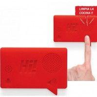 Grabador de mensajes de voz, para nevera