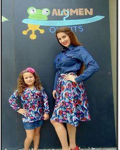 Hermoso conjunto madre e hija que les parece para este fin de semana que viene. Madre e hija iguales #Moda #TalentoNacional #estilismos #outfitalumen ##madreehija #Madre #amor #familiasconestilo #ccs #venezuela