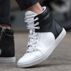 Sometimes, a sneaker is more than just a sneaker. The proof is here in black and white.