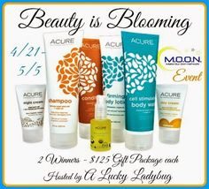 Special Footprints: Beauty is Blooming Giveaway