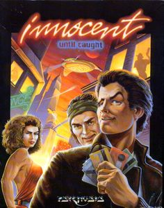 Semiobscure Psygnosis graphic adventure Innocent Until Caught (DOS, 1993)