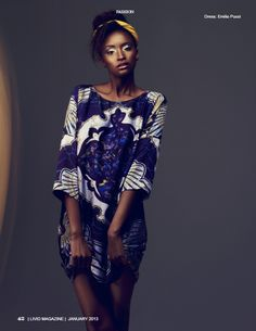 African Fashion & Style Its African inspired.