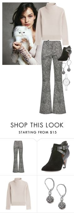 """""""Luma Sinclaire"""" by ashleyr0sexo ❤ liked on Polyvore featuring Lela Rose, Donald J Pliner, Vanessa Seward, Lane Bryant and Marc by Marc Jacobs"""