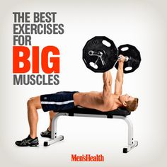 8 moves that get real results. #muscles #workout #exercise http://www.menshealth.com/fitness/exercises-big-muscles?cid=soc_pinterest_content-fitness_july14_bestexercisesforbigmuscles