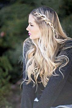 TOP 20 Penteados para cabelos compridos. Tem fotos, vídeos e tutoriais passo-a-passo, vem ver e escolher o que mais combina com vc! http://salaovirtual.org/penteado-cabelo-comprido/ #penteadosparacabeloscompridos #penteado #salaovirtual