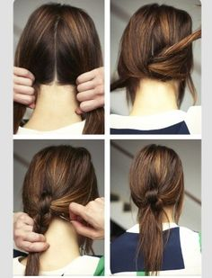 new way to spice up your pony tail