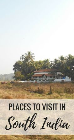 India Travel: List of places to visit in Goa. India travel tips of destinations in the South India state of Goa for you to consider adding to your India backpacking trip in South Asia! Goa is a reasonable distance by train from big cities like Mumbai and Bangalore, as well as the popular tourist state of Kerala. Use this list and map as a guide to planning your India trip itinerary!