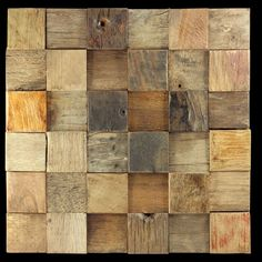 Rustico reclaimed timber mosaic wall tiles by Renaza Brick Look Tile, Marble Look Tile, Timber Tiles, Tiles For Sale, Hardwood Tile, Vitrified Tiles, Mosaic Wall Tiles, Mosaics, Wood