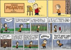 Peanuts Comic Strip, March 04, 2012 on GoComics.com (I must admit I took great joy in being able to stay home, especially since I was a latchkey kid anyway.)
