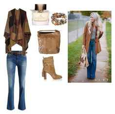 """Boho Vibe...:)"" by lalynany ❤ liked on Polyvore featuring mode, Balenciaga, Michael Kors, Burberry en Hipchik"