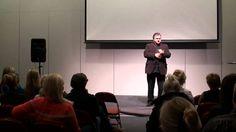 Mats Uldal holder foredrag på Helsemessen 2010