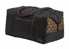 Weekender Travel Bag II, Mod Tortoise @organizingstore