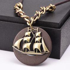 New maxi necklace Vintage necklaces pendants Women Jewelry colar Wood Pendant collier collares sailor moon,choker necklace women
