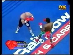 Dingaan Thobela vs Glen Catley WBC world title