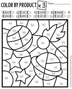 Math Coloring Worksheets 3Rd Grade math coloring pages 7th