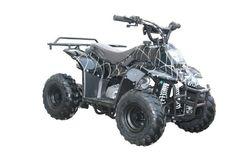 110cc Four Wheelers 6″ Tires Atvs, Spider Black