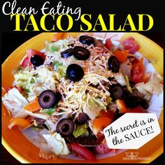 21 day fix taco_salad and dressing