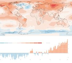 The hottest year in historical record... again.  The bulk of the record-setting heat in 2015 is from long-term planetary warming caused by human emissions of greenhouse gases, according to NASA and NOAA.  (2016-01-21 NYTimes)