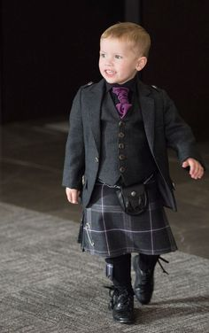 Mini Groomsman in Spirit of Lochearn Outfit