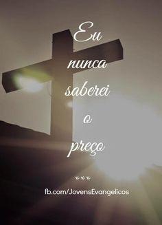 ...dos meus pecados lá na cruz.