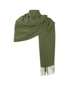 de Bijenkorf Sjaal met franjes