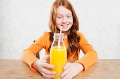 Hidden danger: While parents mean well giving children seemingly healthy fruit drinks, they can contain acid levels which are damaging to teeth, warn dentists